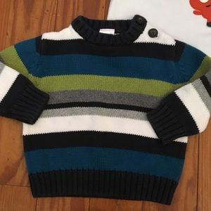 Gymboree Baby Boy Striped Sweater 3-6 Months